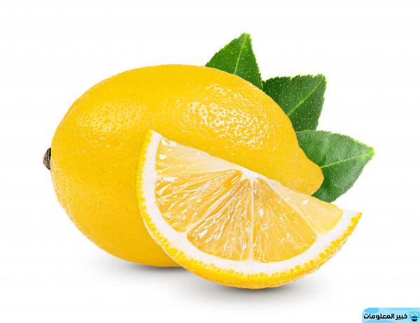 الليمون للبشرة