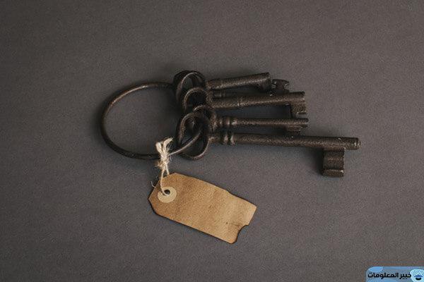تفسير رؤية المفتاح في المنام لابن سيرين