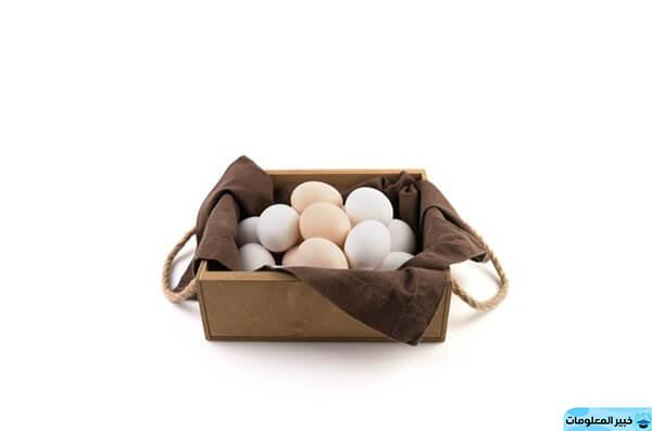 رؤية جمع البيض في المنام