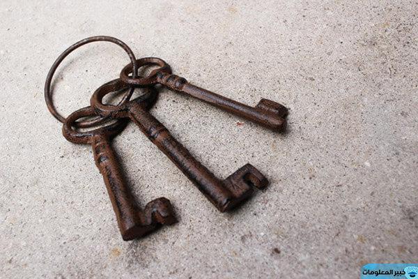 ضياع المفتاح في المنام