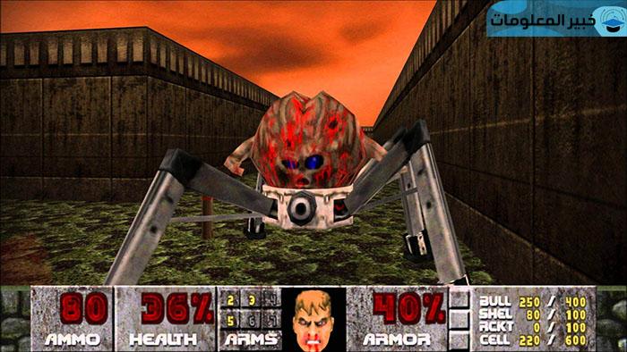 مميزات تحميل لعبة Doom 2 للكمبيوتر